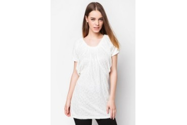 Lace Flare Sleeves Tunic