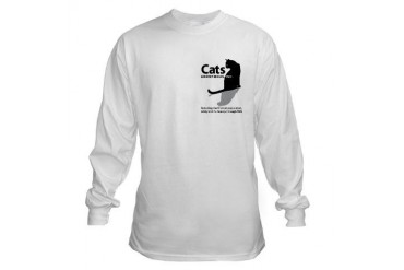 Cat Long Sleeve T-Shirt by CafePress