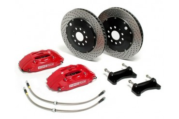 StopTech 13 Inch 4 Piston Front Brake Kit Mini Cooper Incl S 01-06