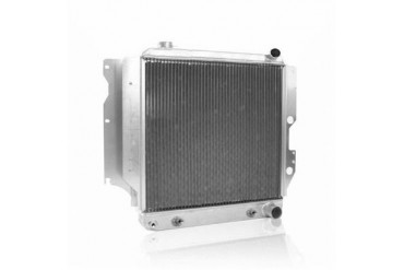 Griffin Thermal Products Performance Aluminum Radiator for Jeep TJ and YJ with GM LS1 Engine and Automatic Transmission 5-287LA-JAX Radiator