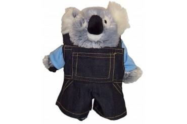 Denim Jean Overralls For Stuffed Animals