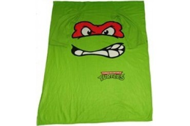 Ninja Turtles Raphael Face Sleeved Blanket