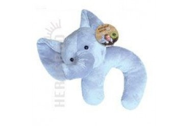 Endangered Species Travel Buddy Plush Neck Pillow and Blanket Elephant 1 Ct