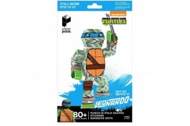TMNT Leonardo Paper Punk Action Figure