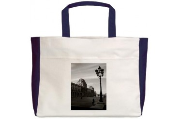 Paris Art Beach Tote by CafePress