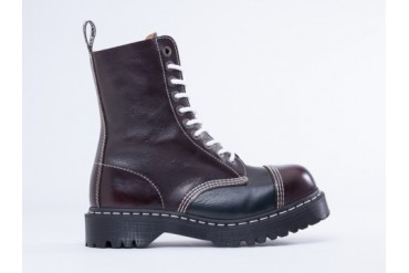 Dr. Martens 8761 BXB Boot in Cherry Red Blue size 8.0