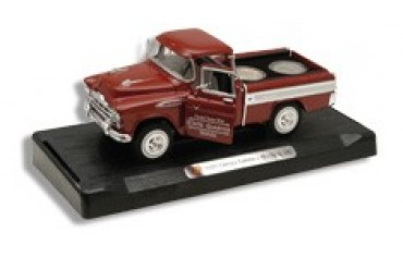 Frost Cutlery 1:28 Scale 1957 Chevrolet Cameo Pickup & State Quarters Gift Set - Georgia