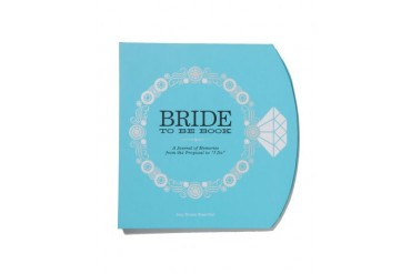 'Bride To Be Book' Journal by Amy Krouse Rosenthal Blue