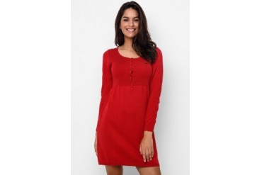 Heath Dress Flatknitt