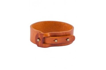 24:01 Leather Wristband