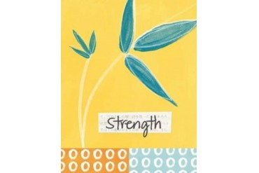 Strength Poster Print by Linda Woods (22 x 28)