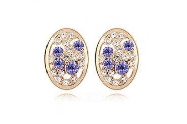Unique Alloy With Crystal Women's Earrings/Stud Earrings (011036419)