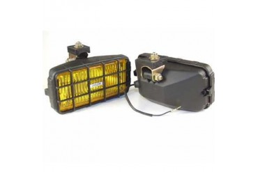 Delta Industries Halogen 250 Series Rectangular Amber Fog Lens 01-2549-50 Offroad Racing, Fog & Driving Lights