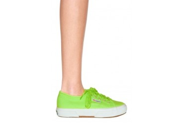 Classic in Acid Green - designed by Superga