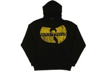 Wu-Tang Clan Cracked Logo Pullover Hooded Sweatshirt