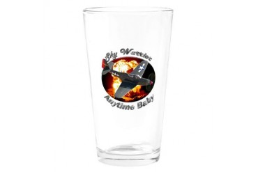 P-63 Kingcobra Baby Drinking Glass by CafePress