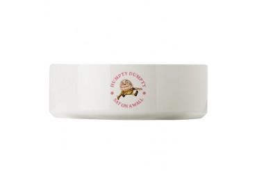 Humpty Dumpty Sat On A Wall Baby Large Pet Bowl by CafePress