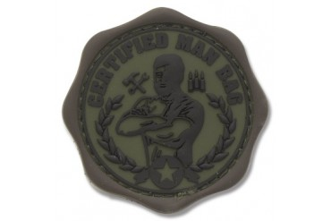Mil-Spec Monkey Certified Man Bag Patch - Forest