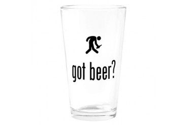 Drinking Funny Drinking Glass by CafePress