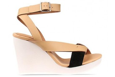 See By Chloe SB20136 in Tan Black White size 7.0