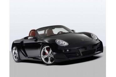 TechArt Wide Body Kit with Black Running Lights Porsche Boxster without OE DRL 05-12