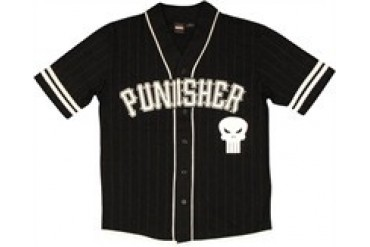 Marvel Comics Punisher Frank Castle Baseball Jersey