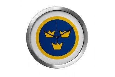 SwAF roundel Air force Modern Wall Clock by CafePress