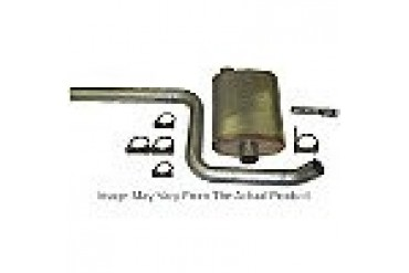 1997-2000 Jeep Wrangler (TJ) Exhaust System Heartthrob Exhaust Jeep Exhaust System 1020396