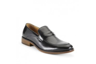 Hill Ridge Leather Pinhole Loafer