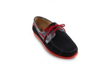 Albertini Lace Up Casual Boat Shoes