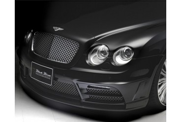 Wald International Black Bison Front Bumper Bentley Flying Spur Speed 09-12