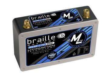 Braille Lithium Ion MiCRO-LiTE 12 Volt Battery 1482 Amp 10 x 3 x 7 inch Right Positive