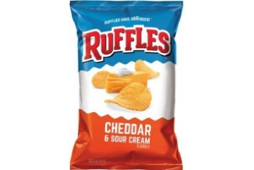 Ruffles Cheddar amp Sour Cream Potato Chips