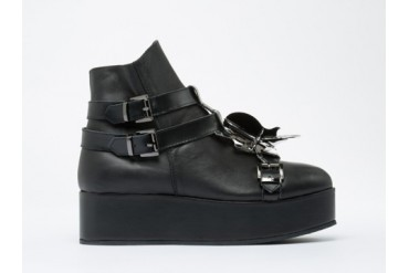 Depression Beetle High Cut Creepers Mens in Black size 11.0