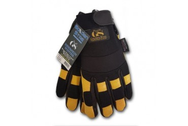 Golden Stag Deerskin Lined Work Gloves