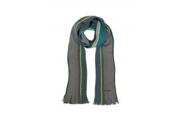 Twist Stripe Wool Scarf