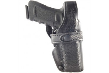 Duty Holster Level Iii Retention Glock 17 Duty Holster Basket Weave Black Glock 17