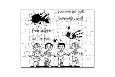 Heredity Family Puzzle by CafePress