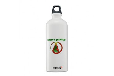 Reasons Greetings Atheist Sigg Water Bottle 0.6L by CafePress