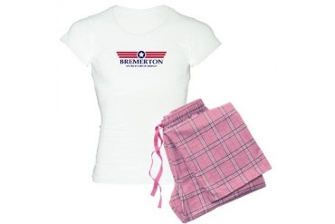 Bremerton Pride Location Women's Light Pajamas by CafePress