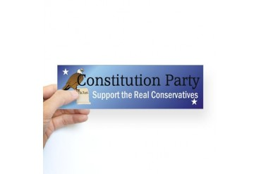 Constitution Party Sticker (Bumper)