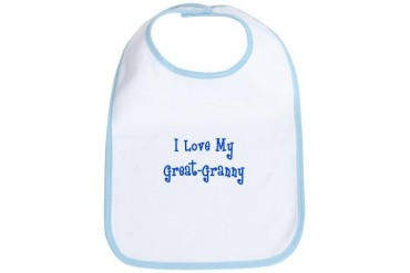 Great Granny Boy Baby Bib by CafePress