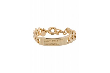 Marc By Marc Jacobs Gold Toggles And Turnlocks Standard Supply I.d. Bracelet