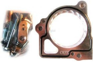 2000-2006 Dodge Dakota Throttle Body Spacer Street Performance Dodge Throttle Body Spacer 47005 00 01 02 03 04 05 06
