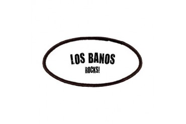 Los Banos Rocks California Patches by CafePress