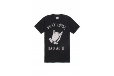 Mens Bad Acid T-Shirts - Bad Acid Pray Loose T-Shirt
