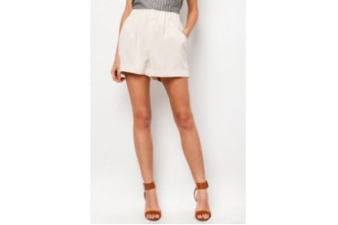 Mango Pleated Shorts