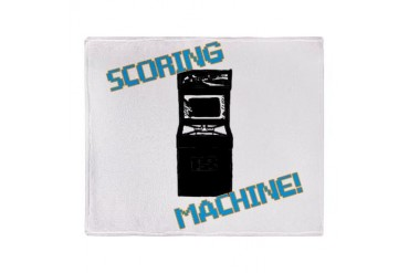 Scoring Machine Stadium Blanket Funny Throw Blanket by CafePress