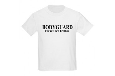 BODYGUARD For my new brother Kids T-Shirt