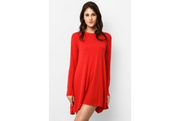16DS Fel T-Shirt Mini Dress